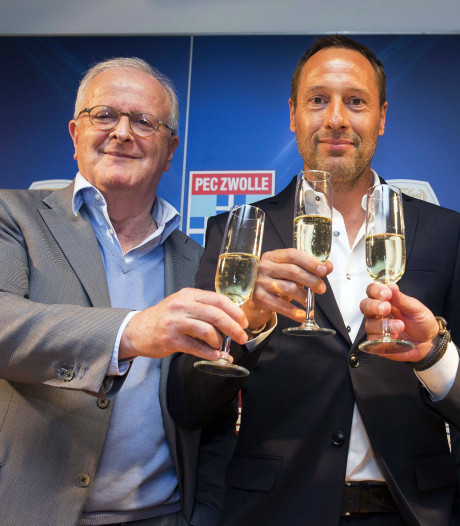 PEC Zwolle-preses Visser: Langer verblijf Van 't Schip dichterbij dan breuk