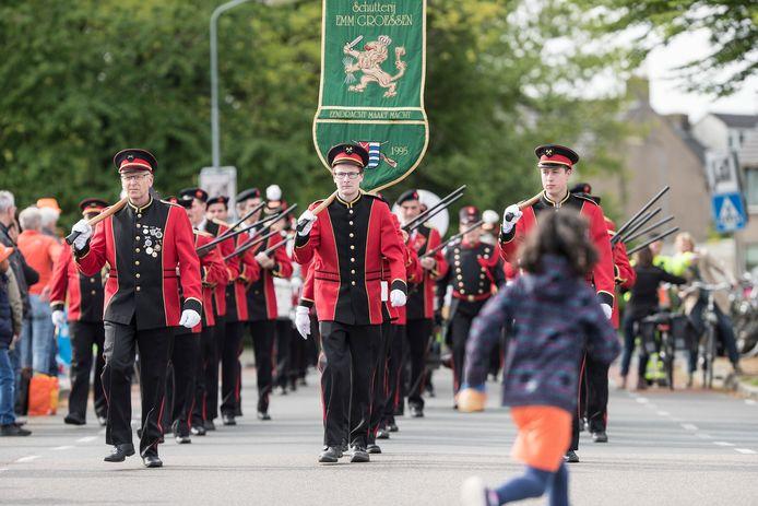 Voor het tweede jaar geen schuttersfestijnen in Gelderland, dus wordt het opnieuw een rustig jaar voor bijvoorbeeld EMM uit Groessen.