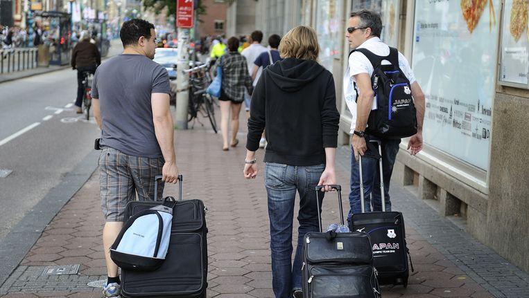 Amsterdam gaat nieuwe hotels en evenementen strenger toetsen om de drukte te beteugelen Beeld anp