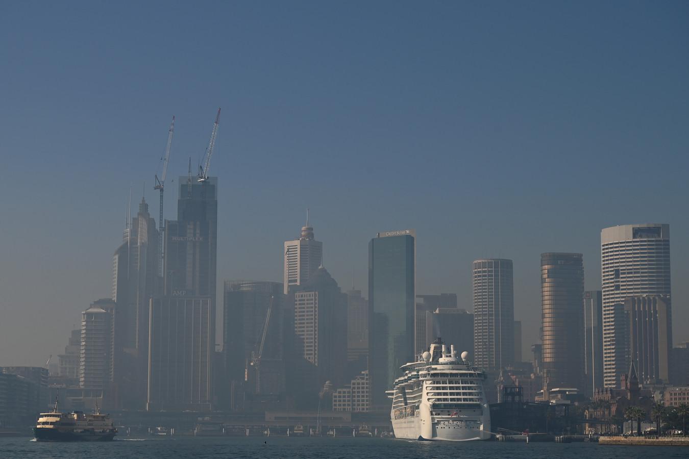De skyline van Sydney