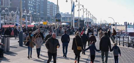 Mensen genieten weer van de zon: druk op Scheveningen en in natuurgebieden