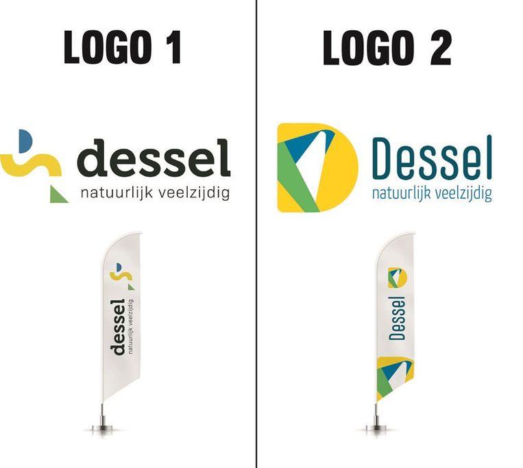 De twee logo's om uit te kiezen.