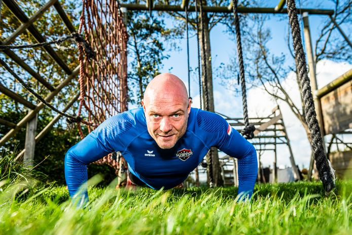 Henk-Jan Schipper, bootcamper en obstable runner.