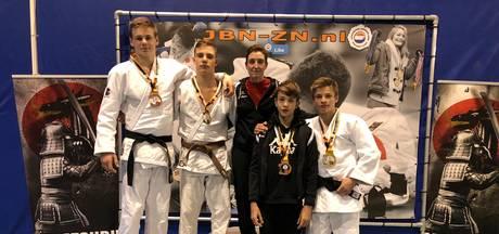 Bushi Arnhem verovert 9 medailles bij Dutch Open Espoir