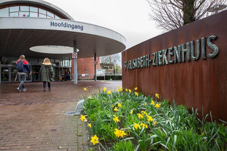 Bij het Tilburgse Elisabeth-TweeSteden Ziekenhuis zijn 28 medewerkers besmet met het nieuwe coronavirus. Beeld Maikel Samuels