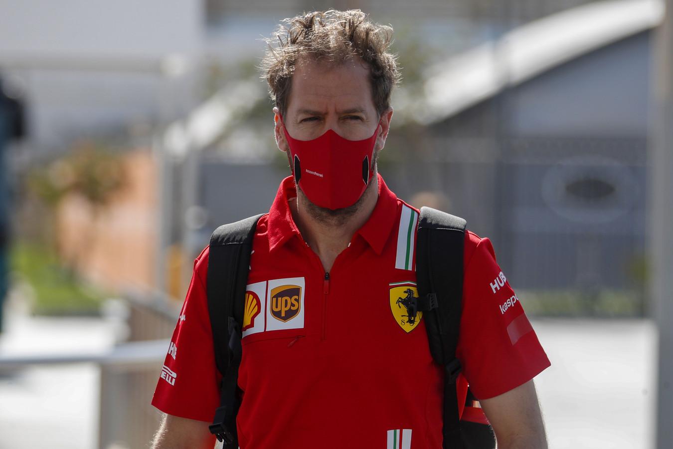 Sebastian Vettel beleefde een teleurstellend laatste jaar bij Ferrari.