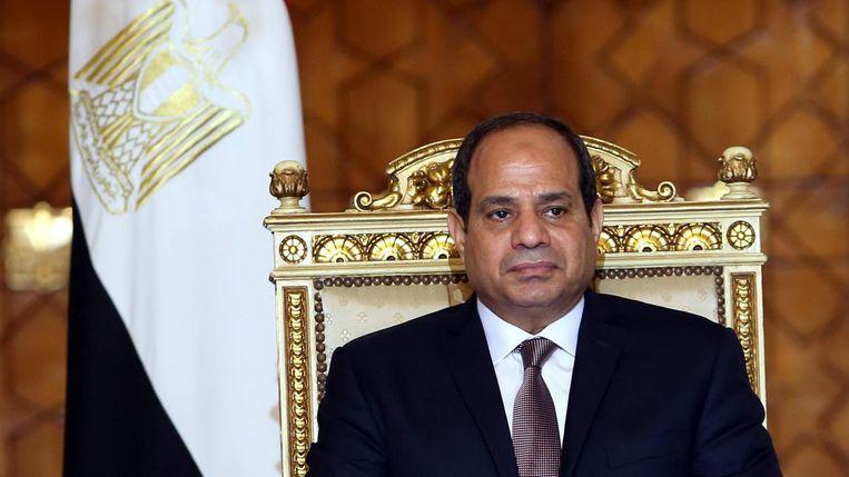 Abdel Fattah al-Sisi Beeld anp