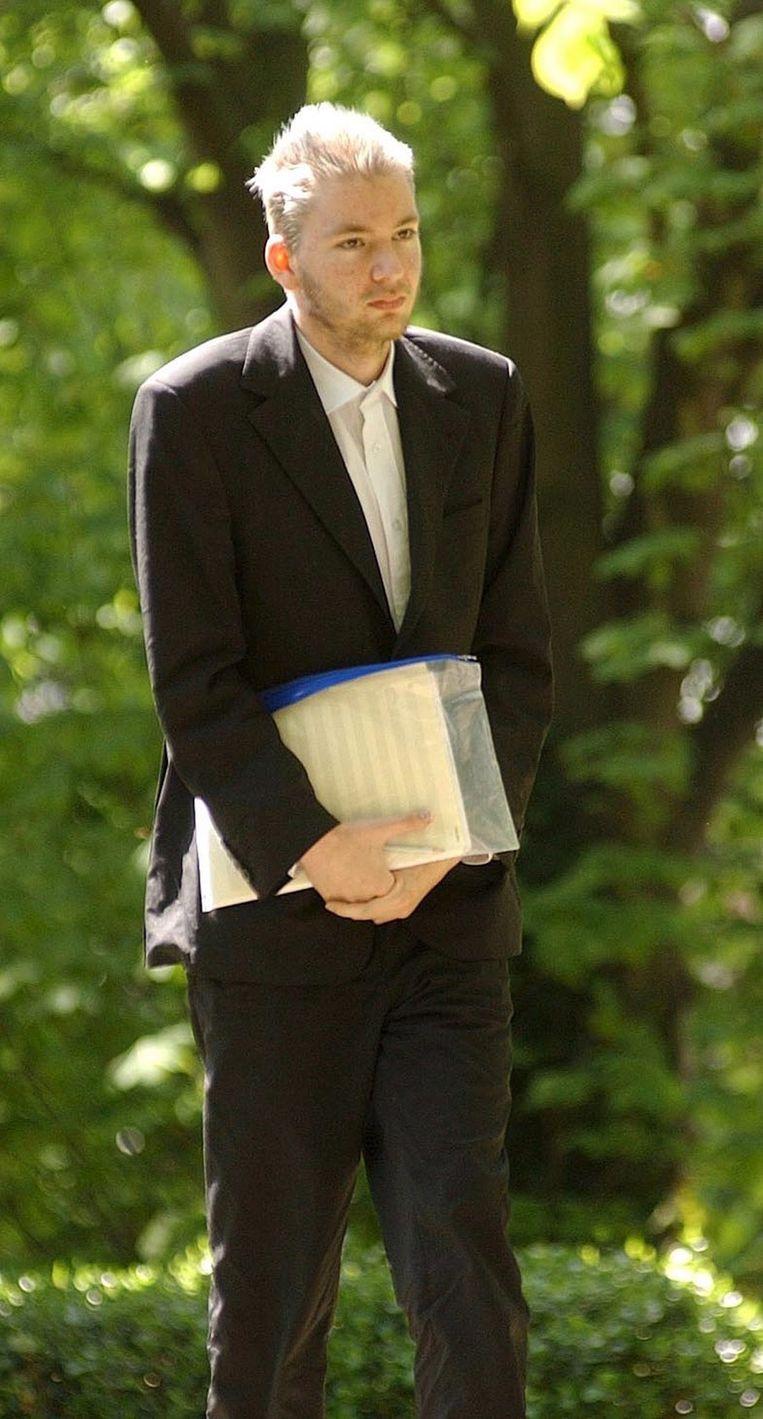 De zogenoemde pianoman, die in 2005 aanspoelde in Groot-Brittannië. Beeld EPA