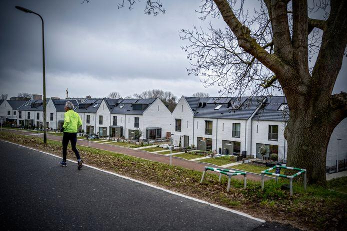De nieuwe wijk Couwenhoek in Capelle  aan den IJssel. Hier zijn de woonlasten het laagst van de regio.