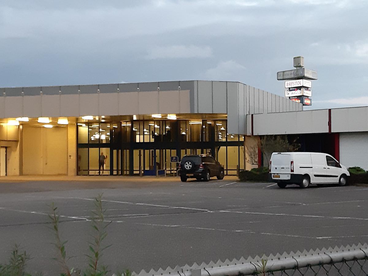 De teststraat komt bij de voormalige Formido.