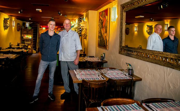 De Gouden Pollepel: restaurant Xochimilco - Patrick Mulder ( L ) Eigenaar en Sjaak van Zijl ( R ) Kok.