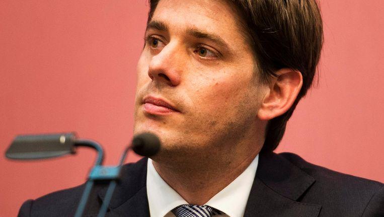 Wethouder Arjan Vliegenthart van Werk creëert banen met werkbrigades Beeld ANP
