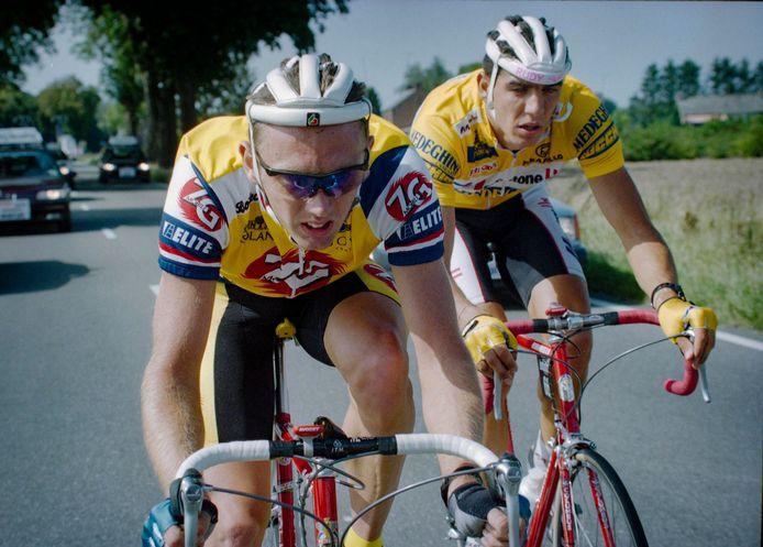 Eenmaal reed John van den Akker de Tour de France, in dienst van het Italiaans ZG Mobili