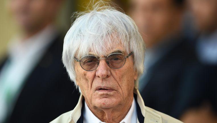 Formule 1-baas bernie Ecclestone Beeld null