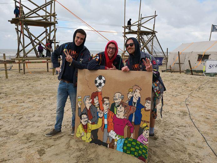Chirovrienden Robbe, Yarne en Joppe