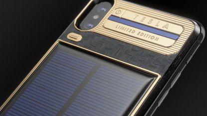IPhone X Tesla: 3.900 euro voor telefoon met zonnepanelen