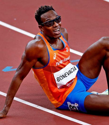 Liemarvin Bonevacia helemaal leeg na finale 400 meter: 'Ik ben een monster, ik houd ervan'