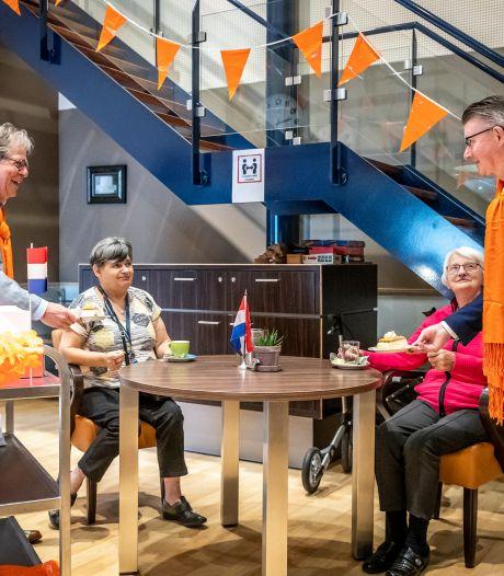 Zorgcentrum Odendael kleurt heel even oranje