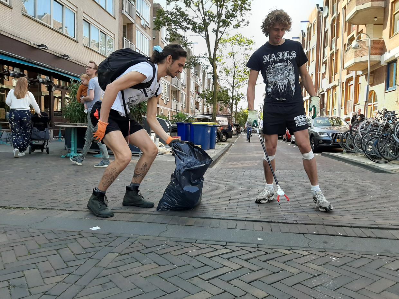 Kees van Ekeren (links) en Jaco de Swart. Beeld Marc Kruyswijk