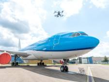 Complete Airbus met drone geïnspecteerd: 'Sneller en veiliger dan fysieke controle'