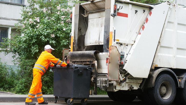 De bestuurder van de vuilniswagen (niet de man op de foto) testte positief op het gebruik van amfetamines. Beeld Thinkstock