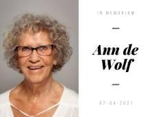 Nieuwegeins raadslid Ann de Wolf (80) overleden: 'Hart voor de mensen om haar heen'