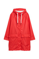 Manteau de pluie à capuche H&M - 49,99 euros - Disponible en ligne.