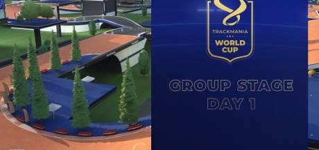 Gemengde gevoelens na eerste dag WK Trackmania