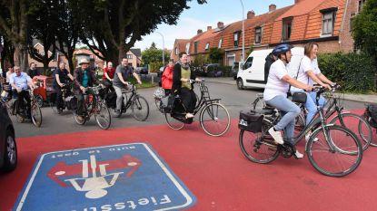 Stadsbestuur creëert twee kilometer fietsstraat