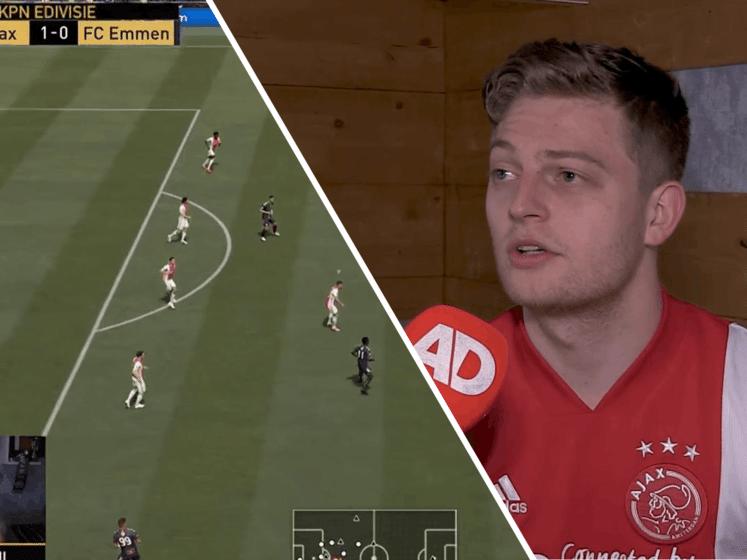 Dani Hagebeuk (Ajax Esports): 'Verlies seizoensopener niet ideaal'