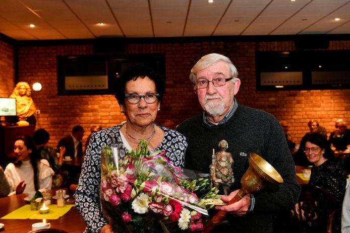 Jan van Veldhoven wint de Koperteutenprijs van Luyksgestel