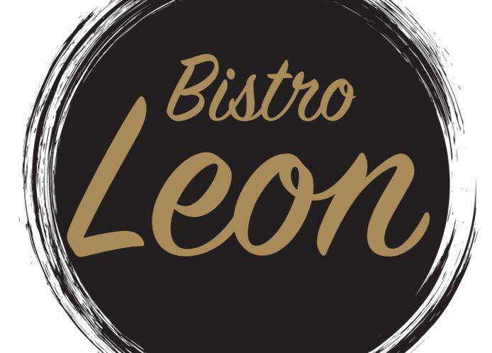 Het logo van Bistro Leon.