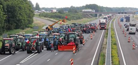 Protest met trekkers mag, maar niet op snelwegen in IJsselland