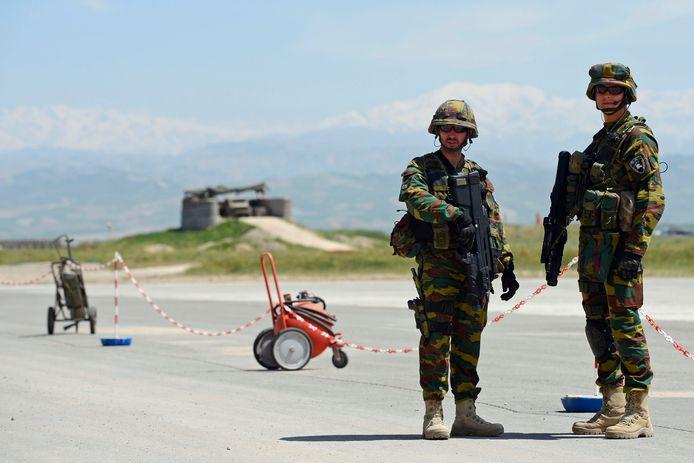 Militaires belges à Kunduz, en 2012