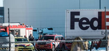 FedEx voorlopig op slot na inzakken dak, 200 medewerkers thuis