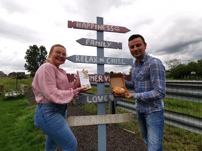 Olivia en Julien Guerin maken bagels, maar ook slaatjes en bowls met N'Joy in Sint-Pieters-Leeuw.