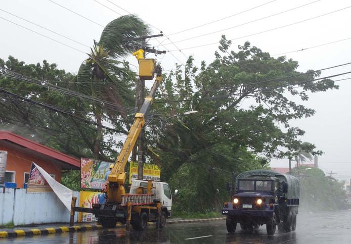 Legazpi, de hoofdstad van de Filipijnse provincie Albay op Luzon.