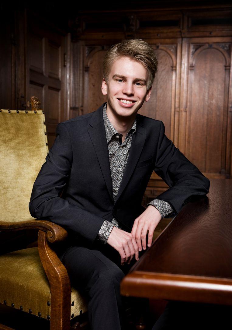 Pianist Ramon van Engelenhoven Beeld Duco de Vries