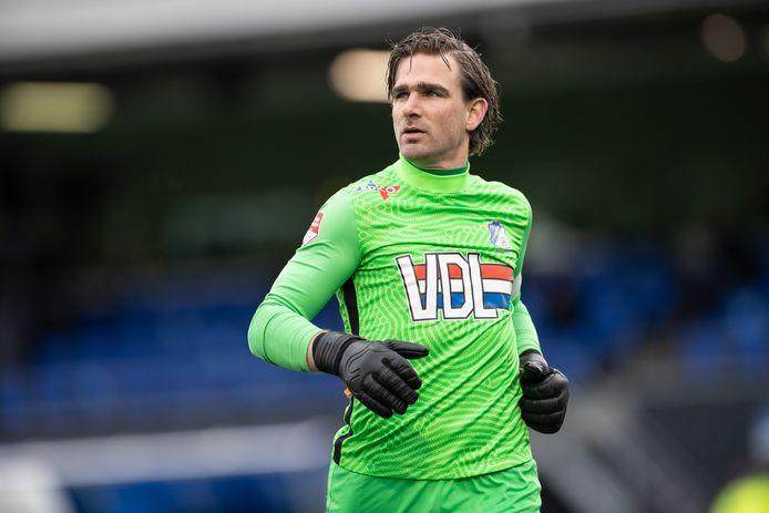Ruud Swinkels (34), doelman van FC Eindhoven