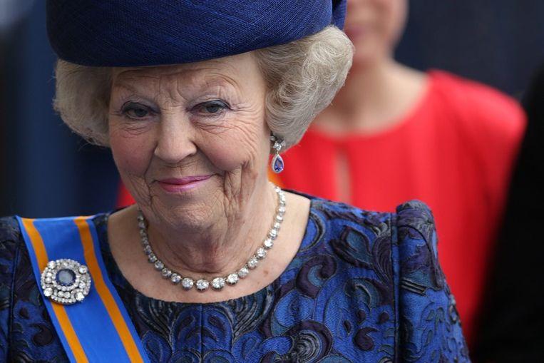 Prinses Beatrix. Beeld epa