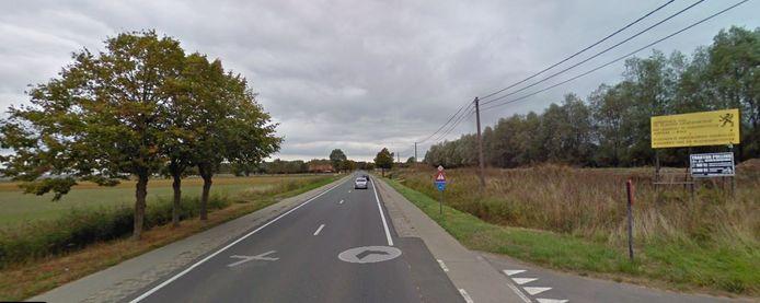 Op 3 mei wordt gestart op dit deel van de Iepersteenweg.