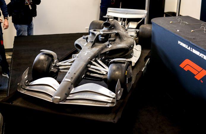 Een prototype voor de auto van 2021.