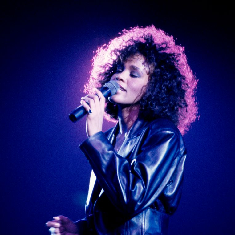 Whitney Houston in 1988. Beeld Getty Images