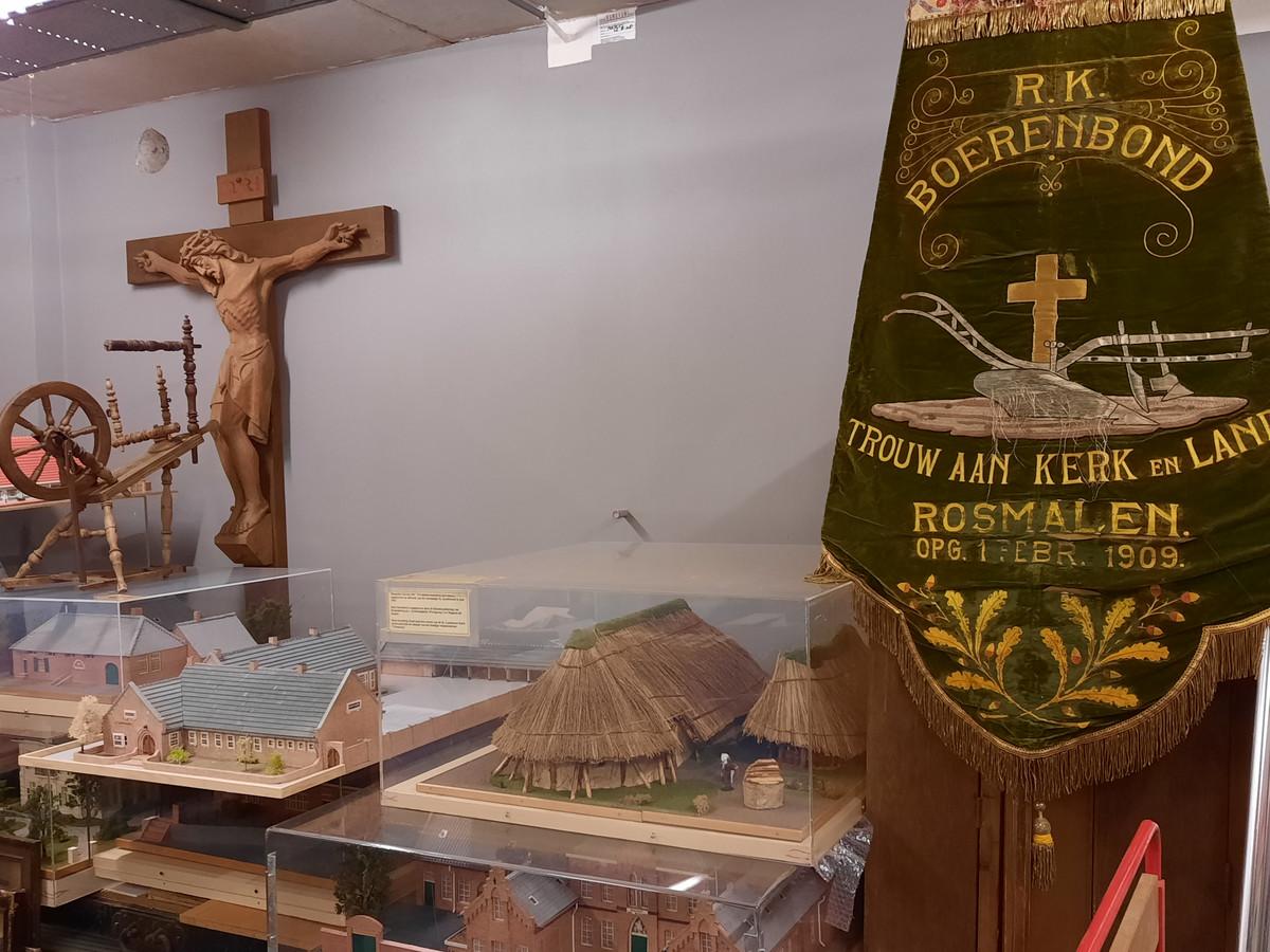 De heemkundekring heeft veel fraaie maquettes die ongebruikt in de kelder liggen.