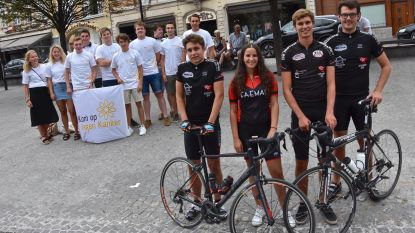 Studentenclub beklimt Mont Ventoux voor goed doel