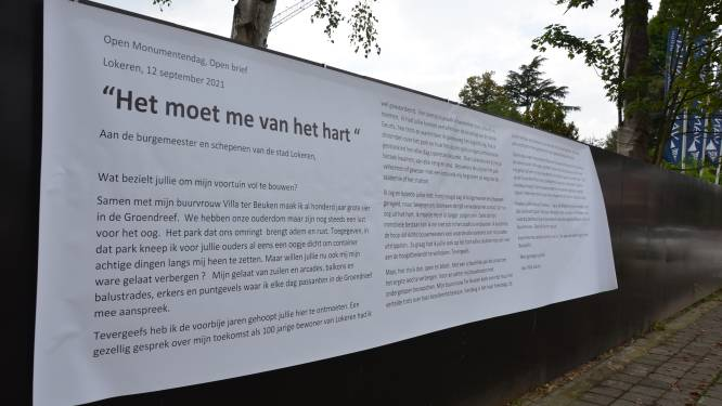 Onbekenden schrijven open brief aan stadsbestuur over Villa Geurts