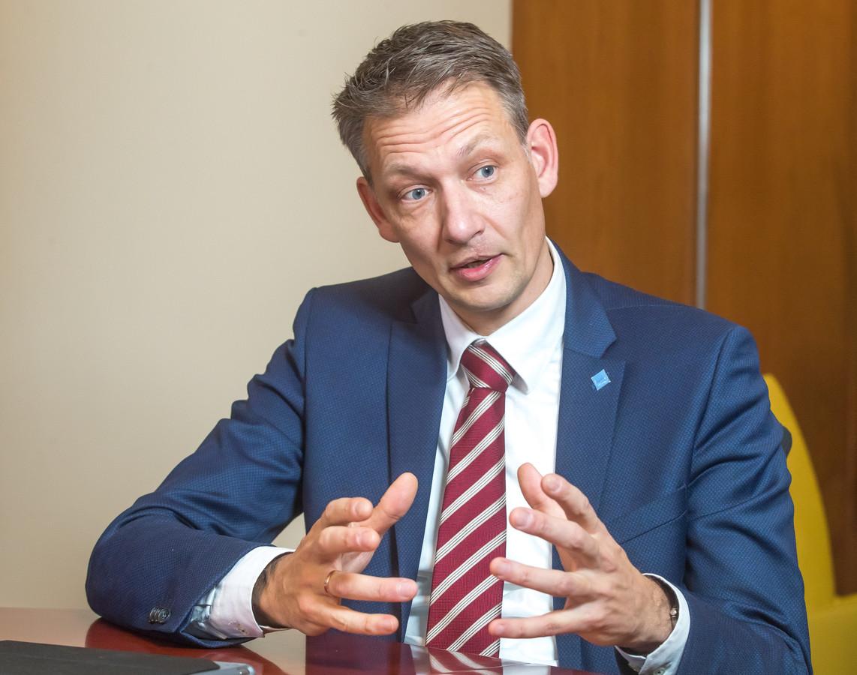 Wethouder Michiel van Willigen.