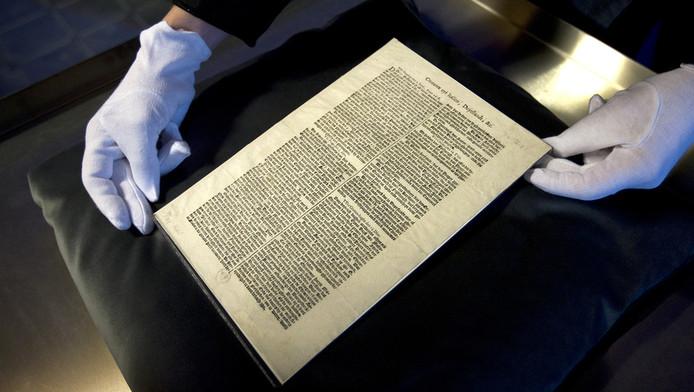 De oudste bewaard gebleven krant van Nederland