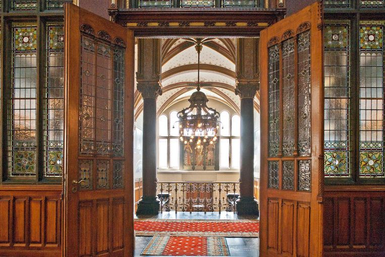 De koninklijke wachtkamer uit 1889 is te bezoeken tijdens Open Monumentendag. Beeld Open Monumentendag