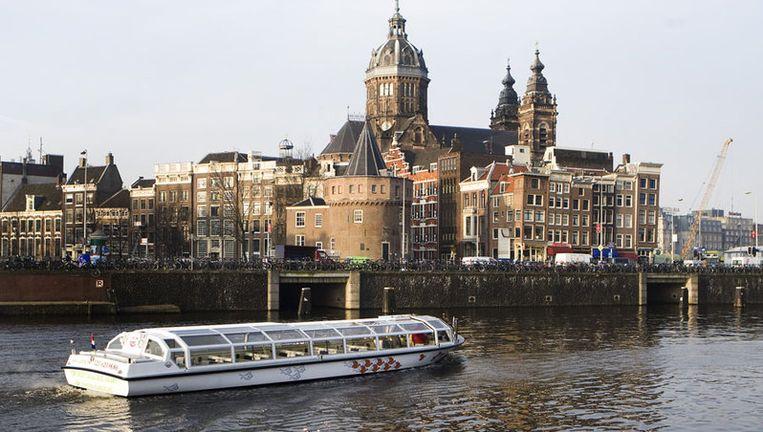 Een aantal rederijen vertelt wetenswaardigheden over de stad die niet altijd kloppen. Foto ANP Beeld